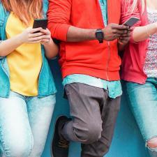 jongeren en smartphone